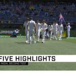 Highlights: Australia vs India (Day 5)