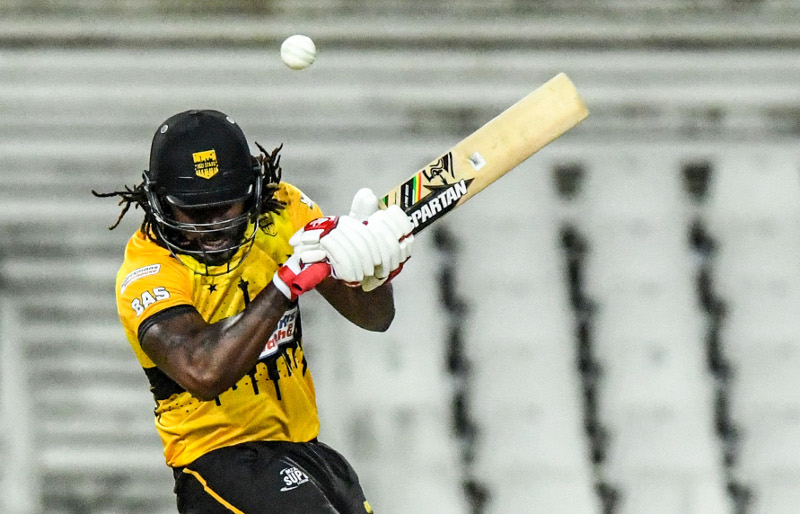 Stars lose Gayle for rest of MSL