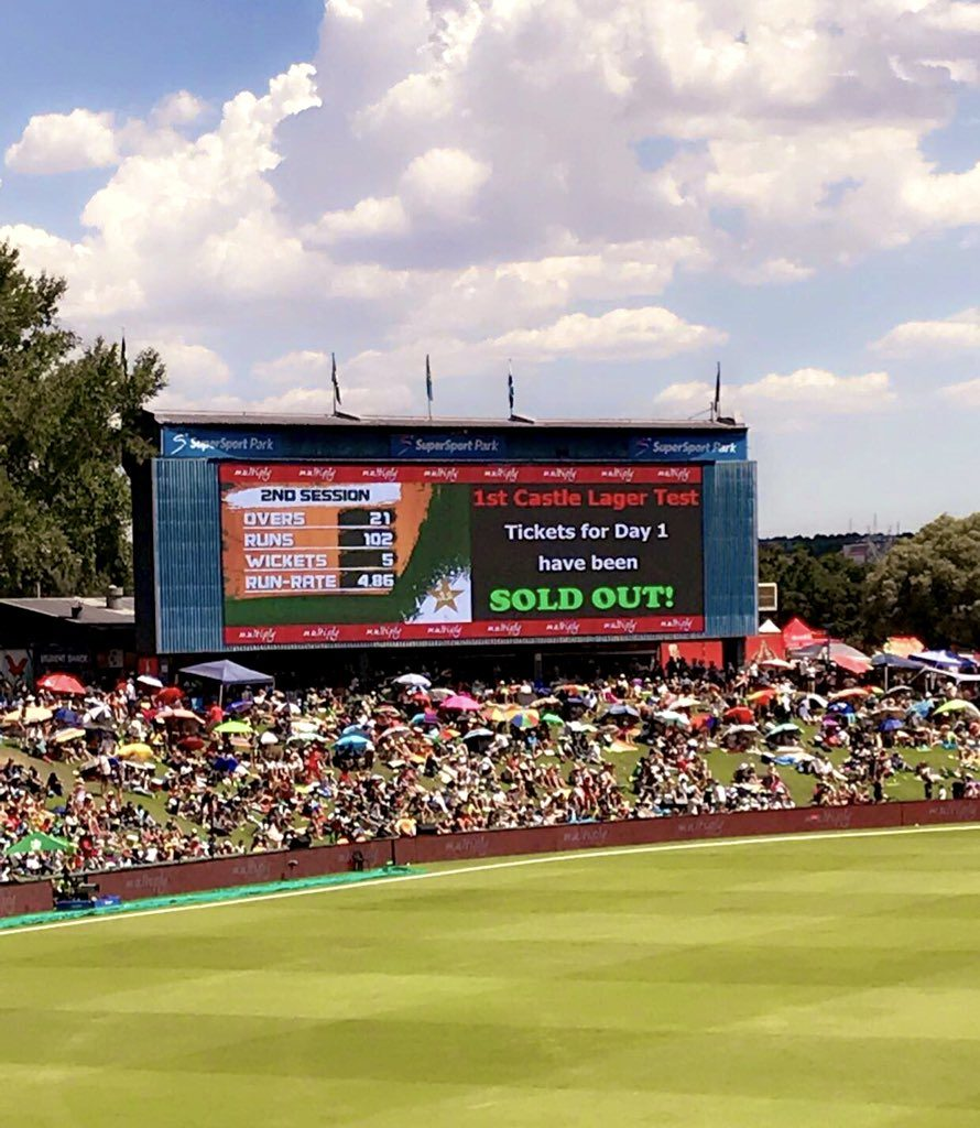 When the Boxing Day Test came to Centurion