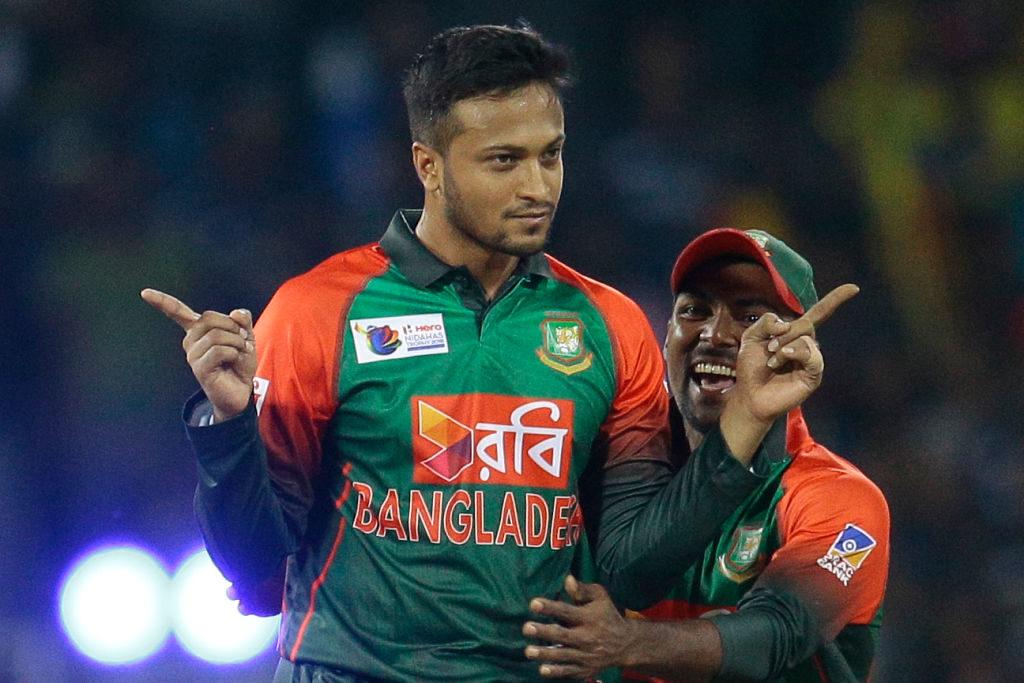 Shakib silences Windies batsmen to level T20I series