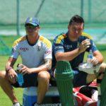 Dale Steyn and Graeme Smith