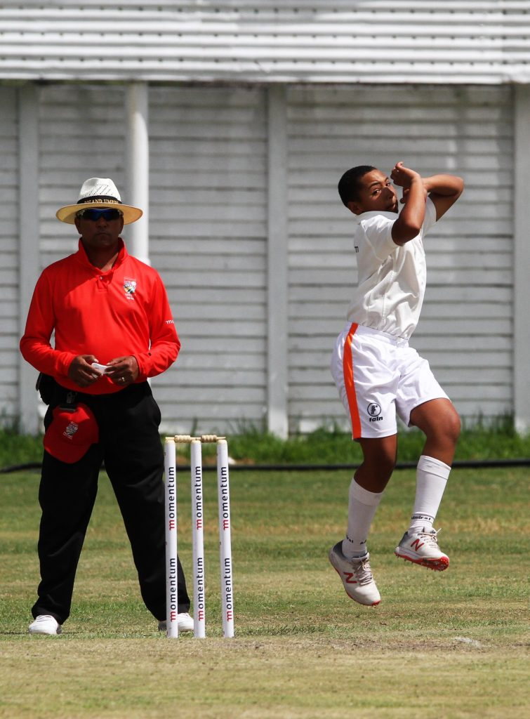 Tristan Rossouw lights up U13 Week