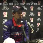 Watch: Quinton de Kock on his 108 vs Spartans