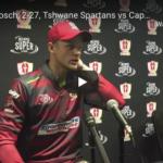 Watch: Corbin Bosch, 2-27 for Spartans vs Blitz