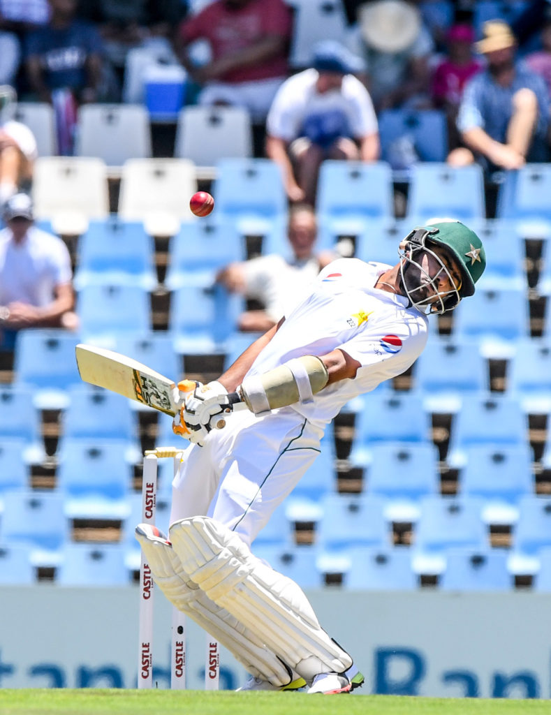 Babar Azam defies Proteas' pace attack