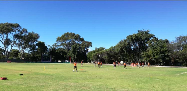 Coke Week venue, Cape Town Cricket Club, a real gem